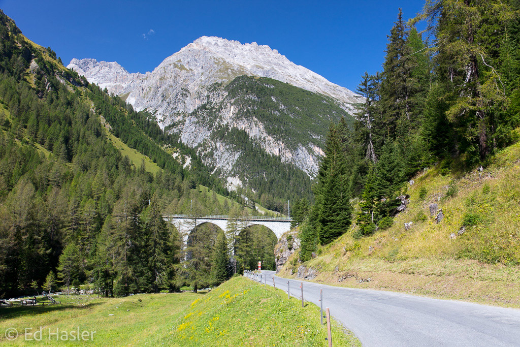 Railway bridge over the Albula Pass
