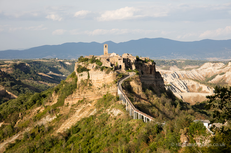 Civita di Bagnoregio in the afternoon sun
