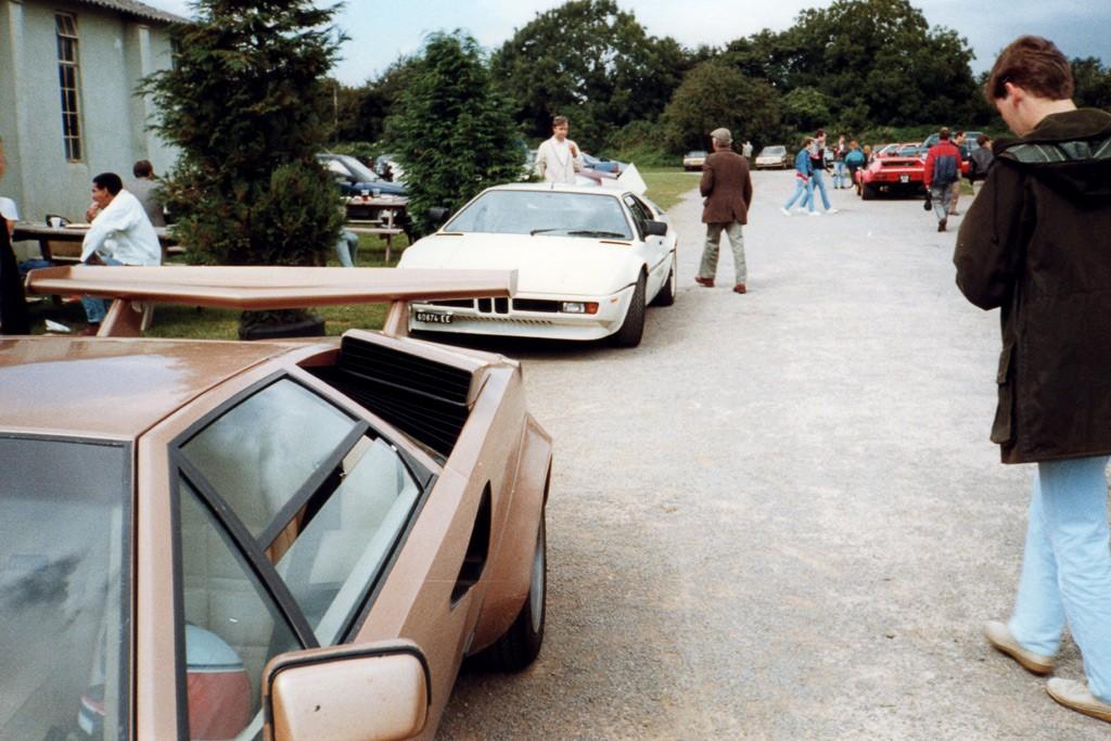 Lamborghini Countach and BMW M1