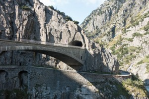 Devil's Bridge at Andermatt