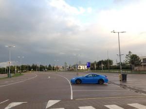 Empty Eurotunnel