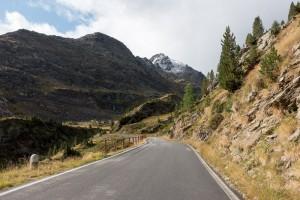 Climbing the Gavia Pass