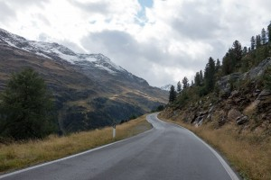 Going Up Gavia Pass