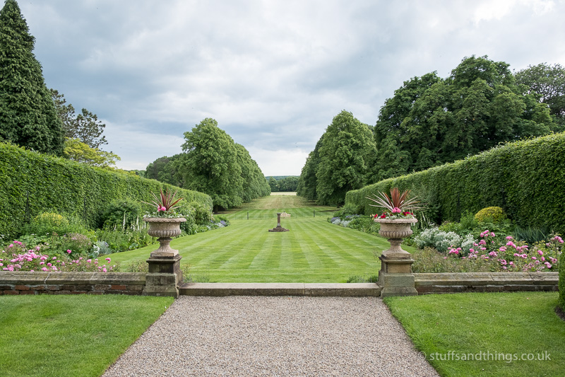 A view of the stunning gardens