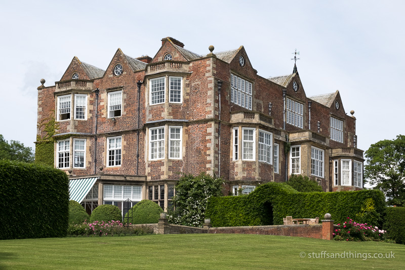 Goldsborough Hall from the grounds