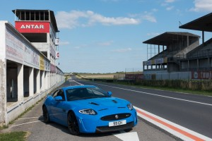 Jaguar XKR-S in Reims Pitlane