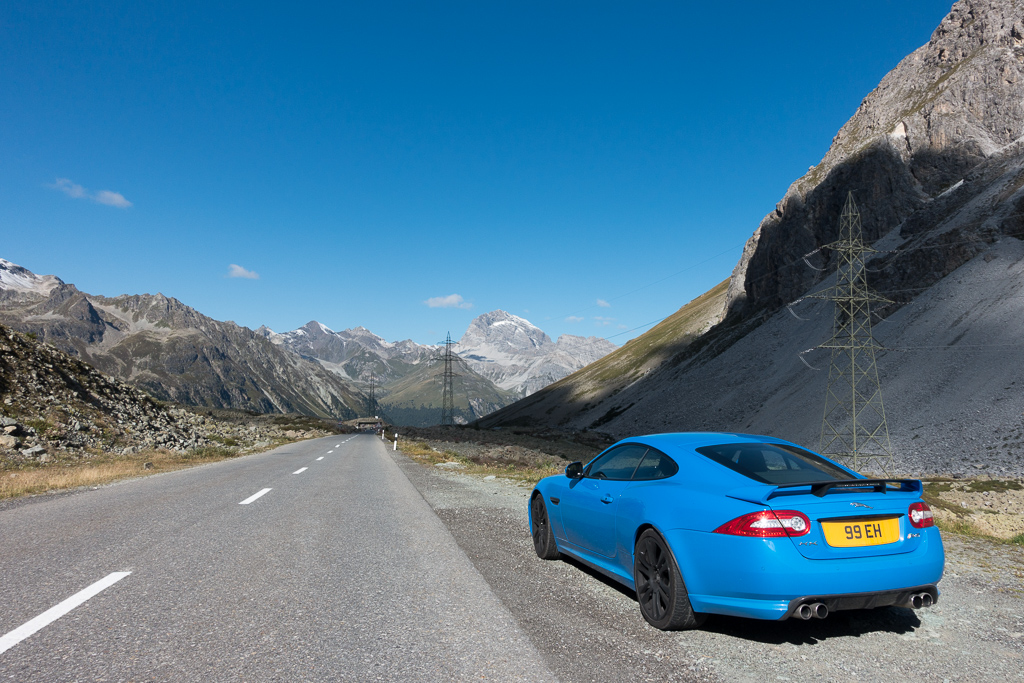 Jaguar XKR-S Road Trip