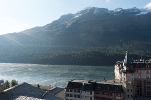 Mist on Lake at St Moritz