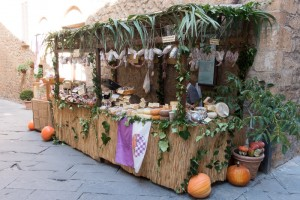 Pienza Pecorino Cheese Stall