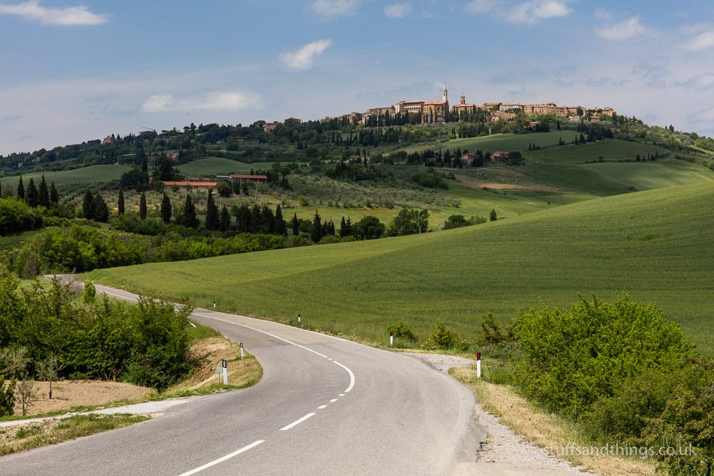 The Road to Pienza in Tuscany