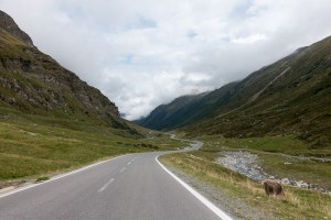 Heading Down the Silvretta Pass