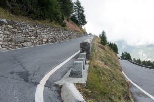 Stelvio Pass Hairpin Bend