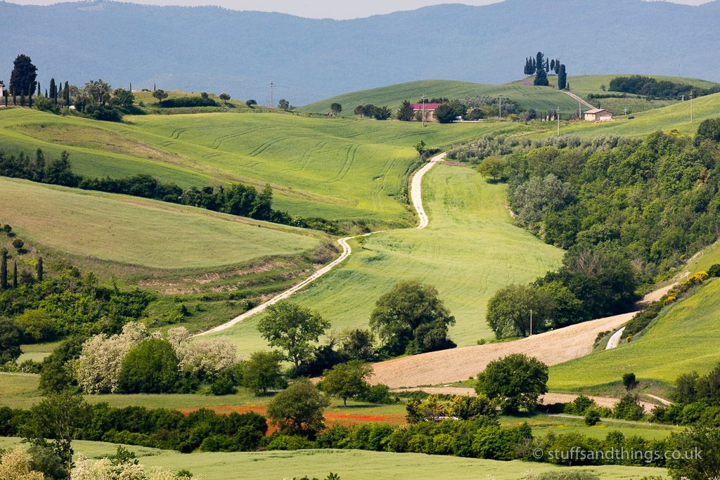 Tuscany landscape near Lucignano d'Asso