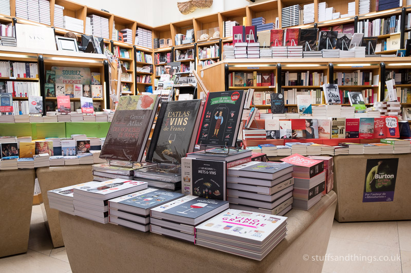 Selection of Wine Books in Athenaeum