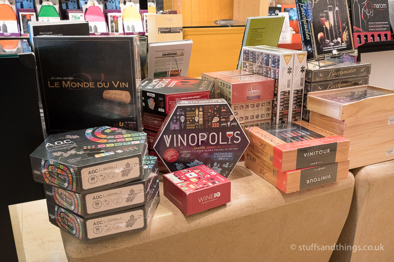 Wine Board Games in Athenaeum
