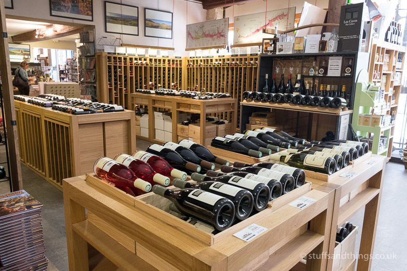 Selection of Burgundy Wine in Athenaeum