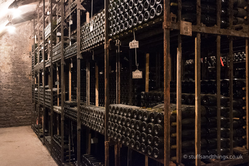 A Cellar at Bouchard Père et Fils