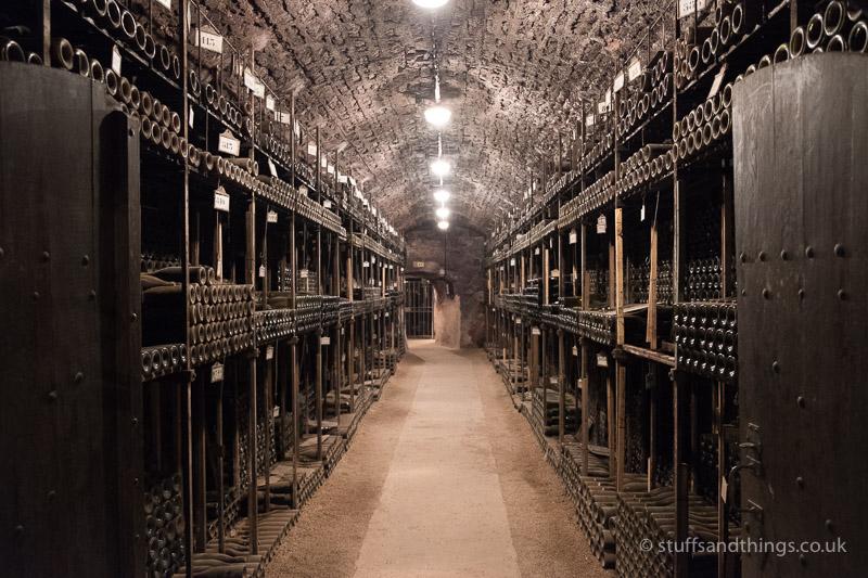 Vintage Wine Cellar at Bouchard Père et Fils