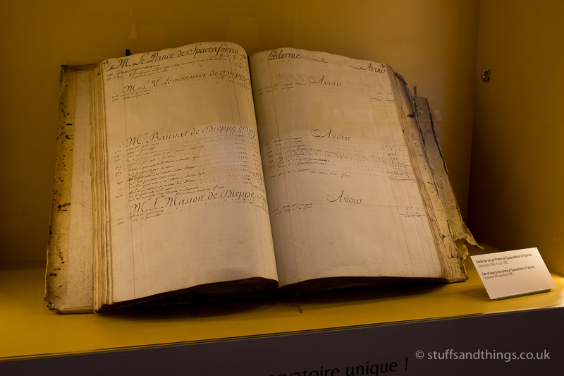 Old Wine Order Book at Bouchard Père et Fils