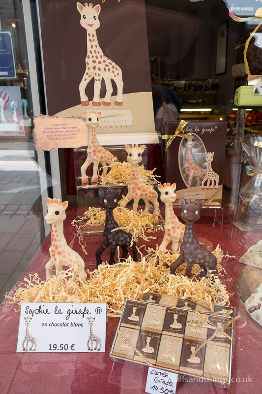 A Chocolate Shop in Beaune