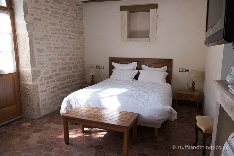 Our Room at Hotel Des Remparts