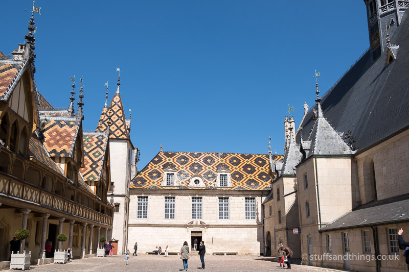The Courtyard at l'Hôtel-Dieu de Beaune