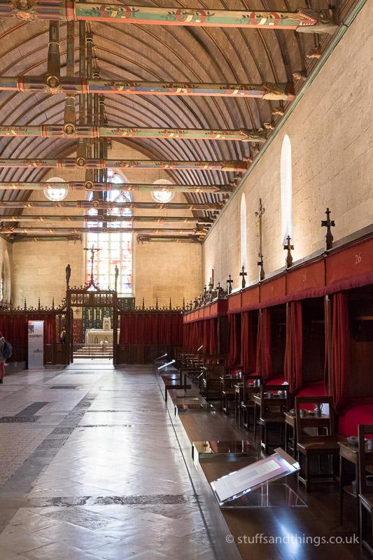 The Room of the Poor at l'Hôtel-Dieu de Beaune