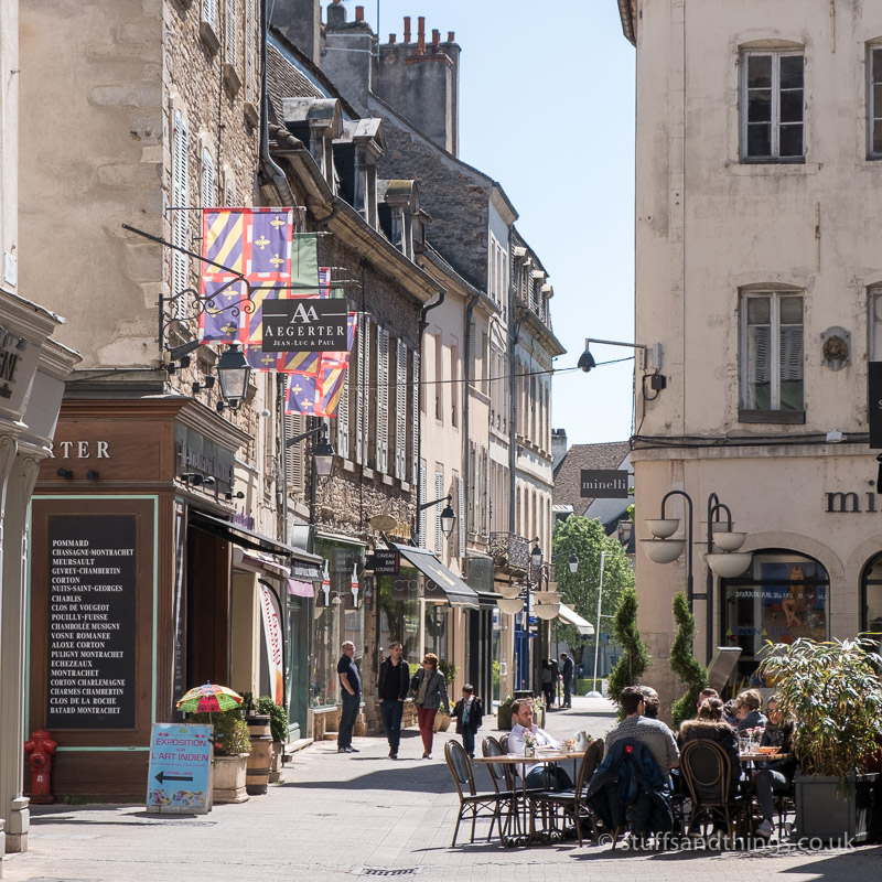Typical Street in Beaune